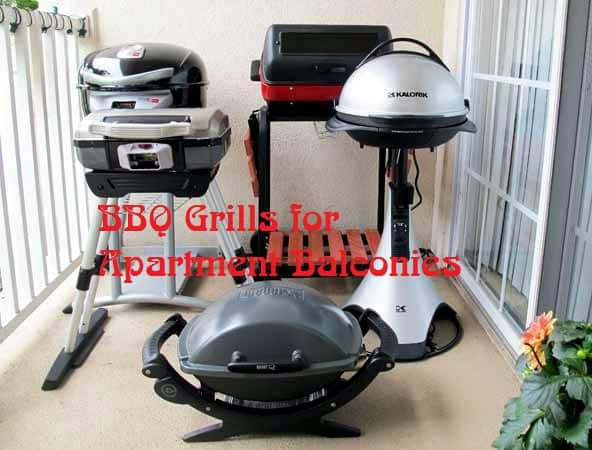 BBQ Grills for  Apartment Balconies